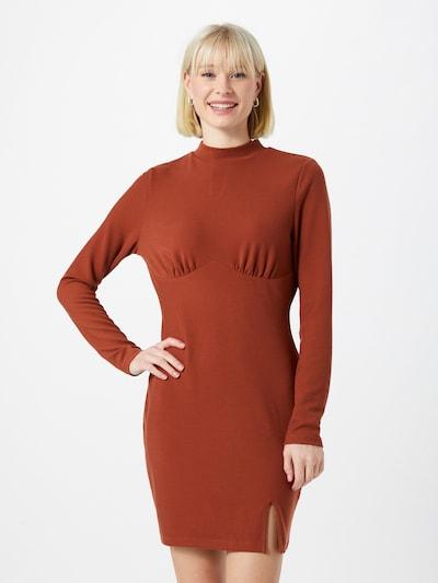 GLAMOROUS Kleid in rostbraun, Modelansicht