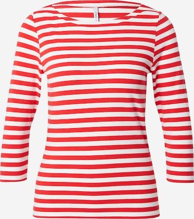 ONLY T-shirt 'FIFI' en rouge / blanc, Vue avec produit
