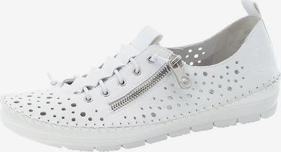 Batai su raišteliais iš RIEKER , spalva - balta, Prekių apžvalga