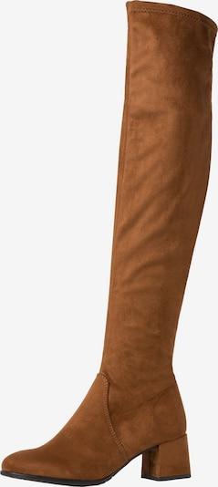 TAMARIS Overknee in karamell, Produktansicht