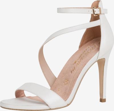 TAMARIS Sandalette in weiß, Produktansicht