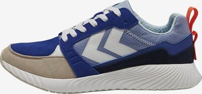 hummel hive Sneaker in hellbeige / blau / rauchblau / weiß, Produktansicht