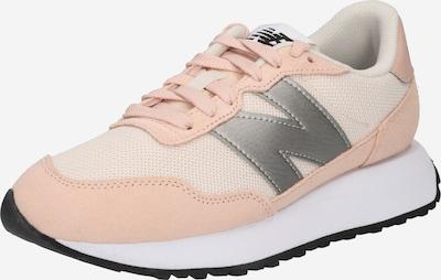 new balance Ниски сникърси '237' в розе / сребърно / бяло, Преглед на продукта