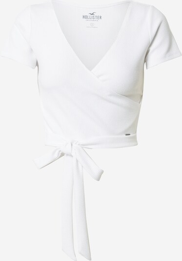 HOLLISTER T-shirt 'MATLASSE' en blanc, Vue avec produit