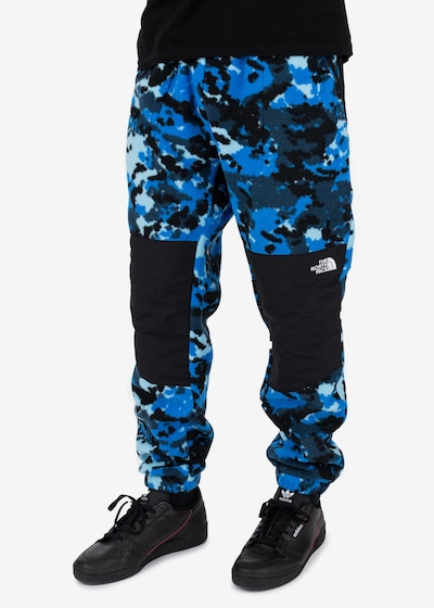 THE NORTH FACE Sportbroek ' Denali ' in de kleur Blauw, Modelweergave