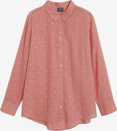 VIOLETA by Mango Blouse 'Tambor' in de kleur Pastelrood, Productweergave