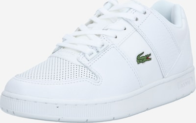LACOSTE Baskets basses en blanc, Vue avec produit