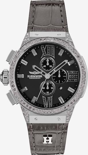 HAEMMER Uhr in dunkelgrau / schwarz / silber, Produktansicht