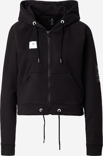 MOROTAI Спортна жилетка с качулка 'Box Full Zip' в черно, Преглед на продукта