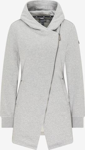 DreiMaster Vintage Sweatjacke in Grau