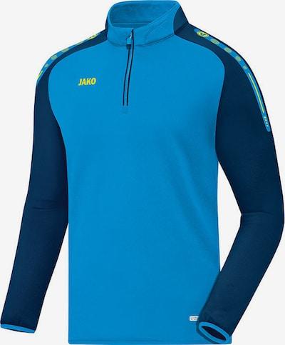 JAKO Sweatshirt in blau / neonblau, Produktansicht