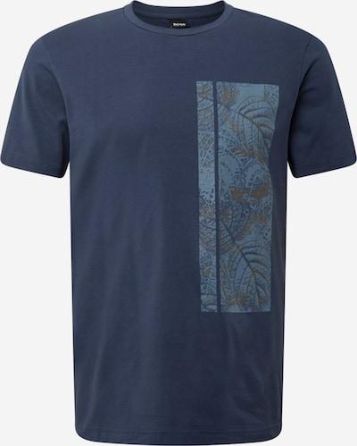 BOSS ATHLEISURE Bluser & t-shirts i navy / røgblå / brun, Produktvisning