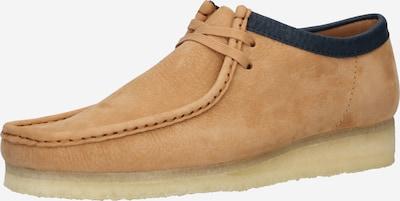 Clarks Originals Δετό παπούτσι 'Wallabee' σε ανοικτό καφέ, Άποψη προϊόντος