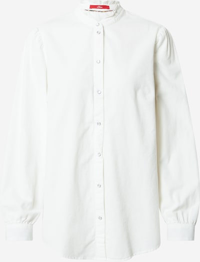 s.Oliver Bluse in weiß, Produktansicht