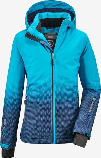 KILLTEC Outdoorjacke 'Lynge' in azur / dunkelblau, Produktansicht