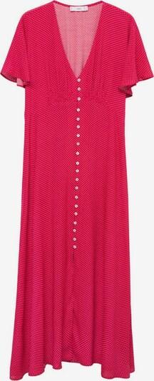 MANGO Kleid 'Rouje' in rot / weiß, Produktansicht