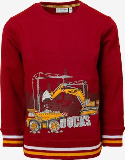 SALT AND PEPPER Sweatshirt 'Builder' in Red, Item view