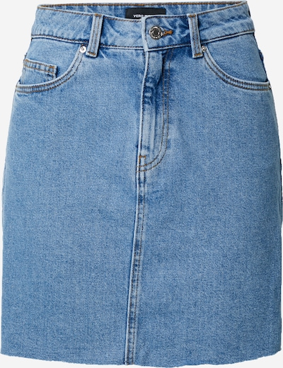 VERO MODA Rock 'Mikky' in blue denim, Produktansicht