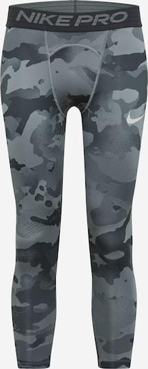 NIKE Sportovní kalhoty - šedá / antracitová / světle šedá, Produkt