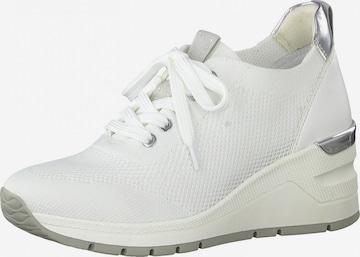 Earth Edition by Marco Tozzi Sneaker in Weiß