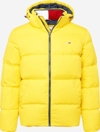 Tommy Jeans Jacke in gelb, Produktansicht
