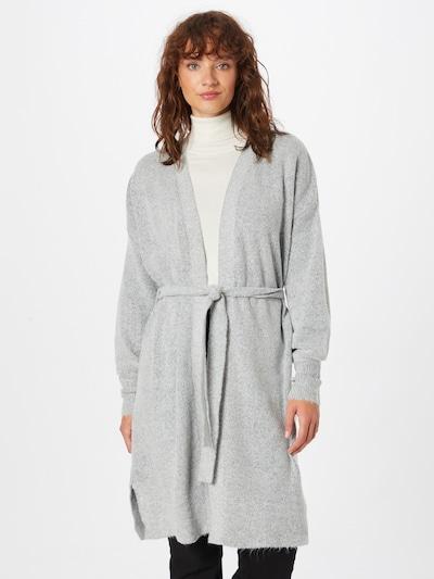 VILA Knit Cardigan 'Rolfie' in mottled grey, View model
