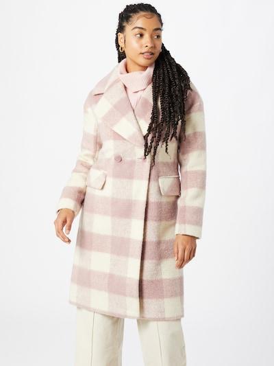 GLAMOROUS Přechodný kabát - růže / bílá, Model/ka