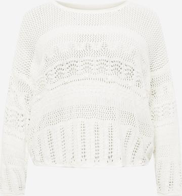 Z-One Pullover 'Blair' in Weiß