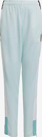 ADIDAS PERFORMANCE Sportbroek 'Tiro' in de kleur Mintgroen / Jade groen / Zwart / Wit, Productweergave