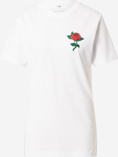 Tricou Mister Tee pe verde / roșu / alb, Vizualizare produs