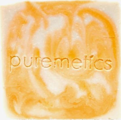 puremetics Seife 'Rizinuss Repair' in orange, Produktansicht