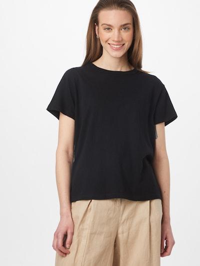 Marc O'Polo Тениска в сиво / черно: Изглед отпред