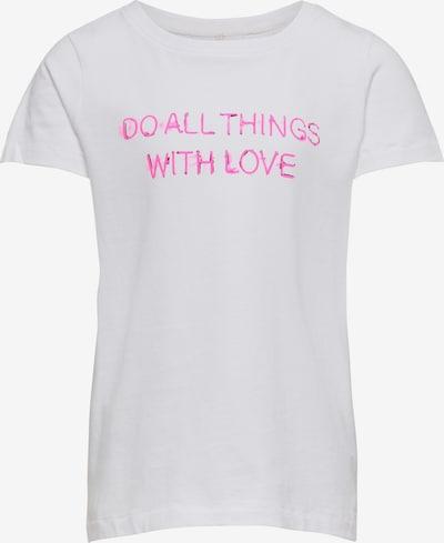 KIDS ONLY T-Shirt en rose néon / blanc, Vue avec produit