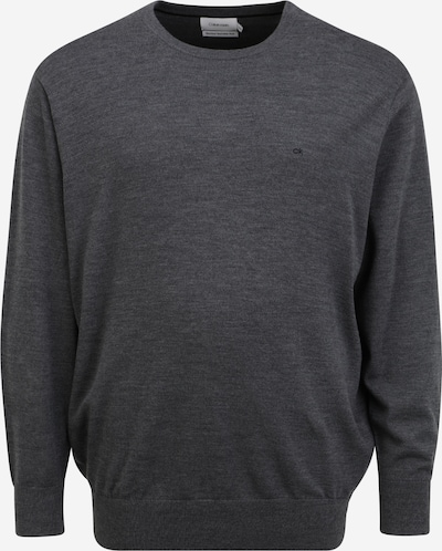 Calvin Klein Big & Tall Пуловер в тъмносиво, Преглед на продукта