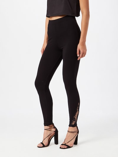 ABOUT YOU Leggings 'Darja' in schwarz, Modelansicht