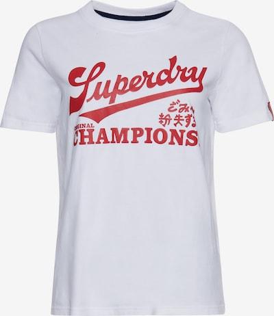Superdry Koszulka w kolorze czerwony / białym, Podgląd produktu
