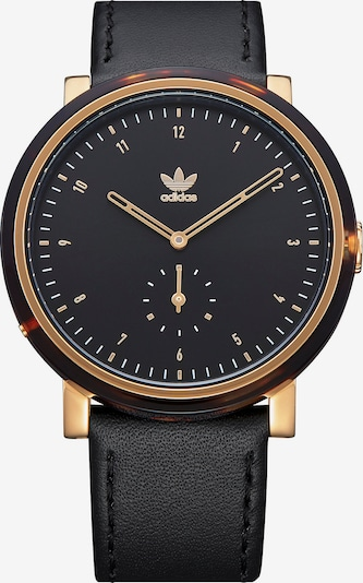 ADIDAS ORIGINALS Uhr in schwarz, Produktansicht