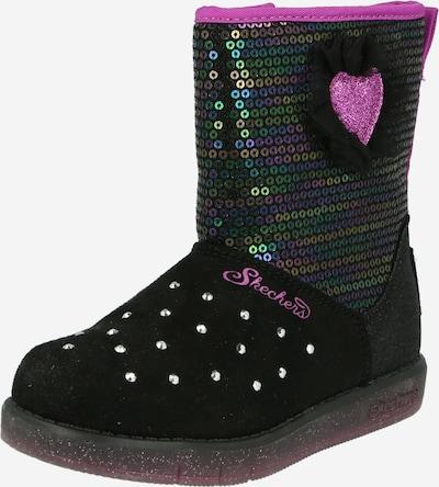 SKECHERS Sniega apavi jauktu krāsu / melns, Preces skats