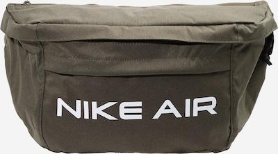 Nike Sportswear Sacs banane en olive / blanc, Vue avec produit