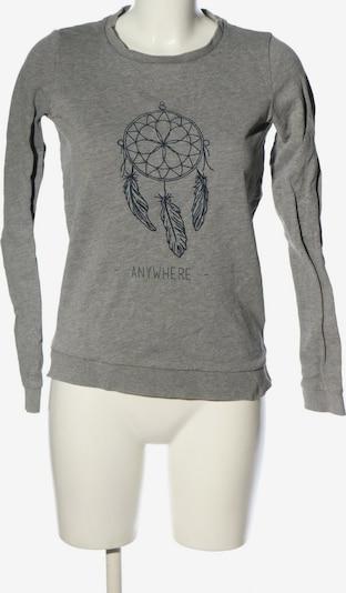 Pimkie Sweatshirt in S in hellgrau, Produktansicht