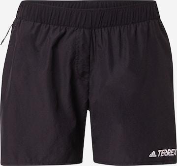 adidas Terrex Workout Pants in Black