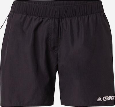 adidas Terrex Sporthose in schwarz / weiß, Produktansicht