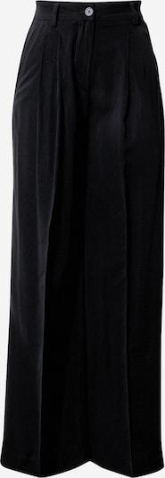 NU-IN Bukser med fals i sort, Produktvisning
