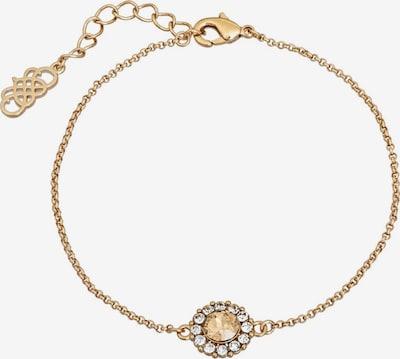 LILY AND ROSE Zapestnica 'Celeste' | zlata / bela barva, Prikaz izdelka