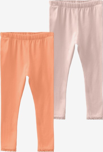 NAME IT Leggings 'Vista' in orange / pastellpink, Produktansicht