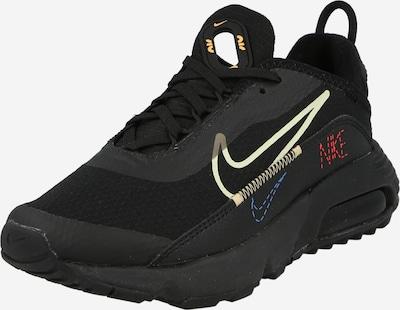 Sneaker Nike Sportswear di colore blu / giallo pastello / rosso / nero, Visualizzazione prodotti