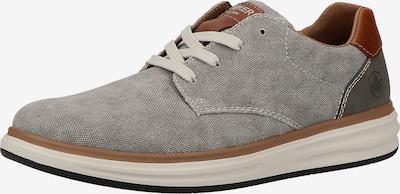 RIEKER Sneaker in braun / hellbraun / hellgrau, Produktansicht