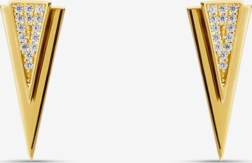 MOSUO JEWELLERYNaušnice 'Victoria' - zlatna boja
