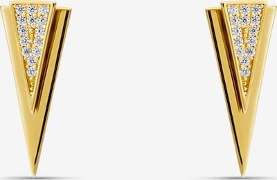MOSUO JEWELLERY Boucles d'oreilles 'Victoria' en or / argent, Vue avec produit