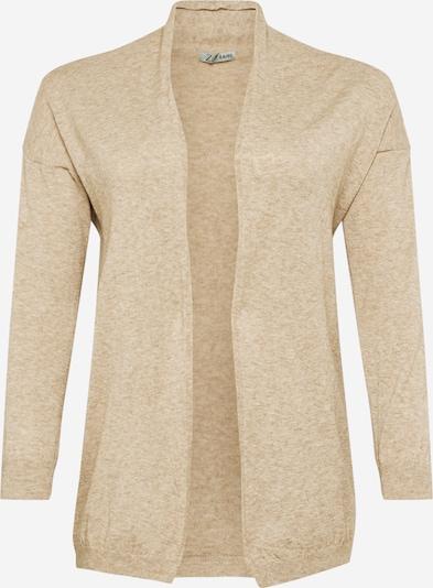 Z-One Cardigan 'Tabea' en beige, Vue avec produit